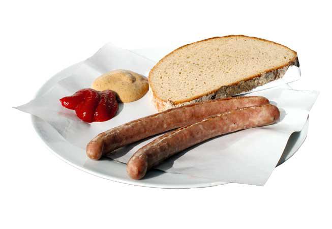 Bratwurst Würstelstand LEO