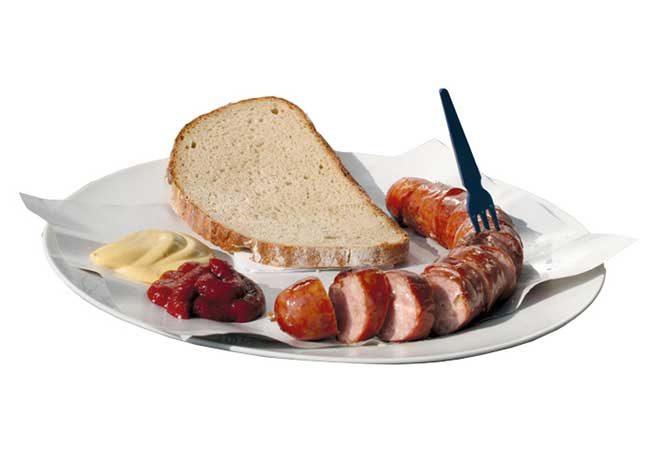 Cheese-Krainer, Wurstelstand LEO