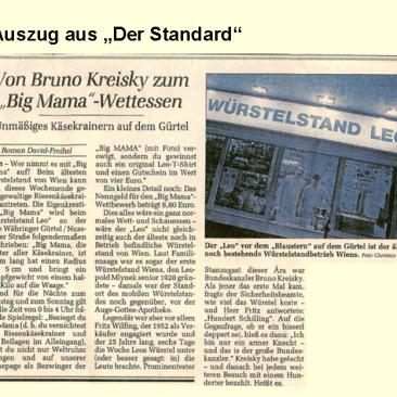 """Von Bruno Kreisky zum """"Big Mama"""" Wettessen"""