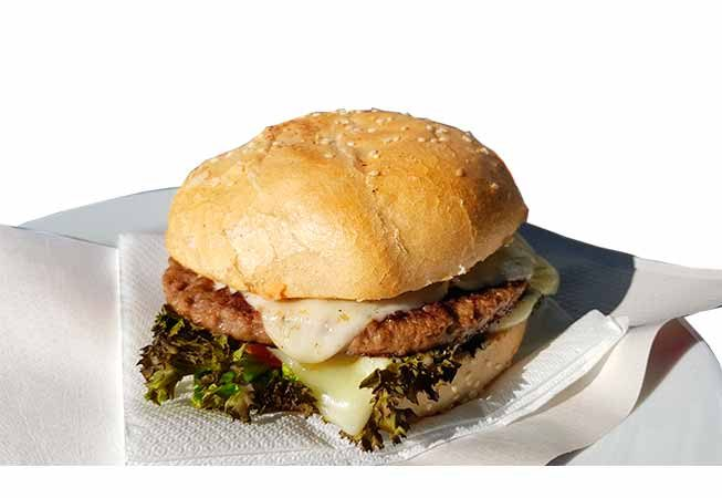Leo Cheeseburger 100% beef