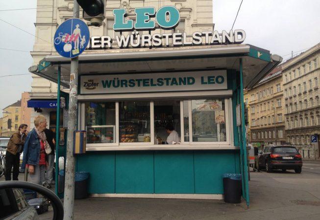 Kurier Foto (Maria Gurmann) Wüerstelstand LEO