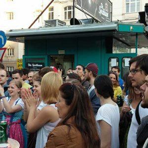"""""""Die Spritbuam"""" Warm Up Party at Wurstelstand LEO"""
