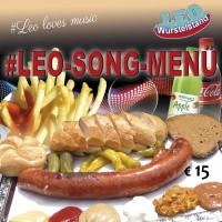 Das #LEO-SONG-MENÜ - beim Würstelstand LEO