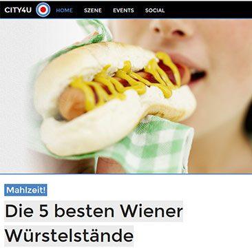 Die fünf besten Wiener Würstelstände