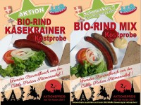 Biorind-Würste neu beim LEO