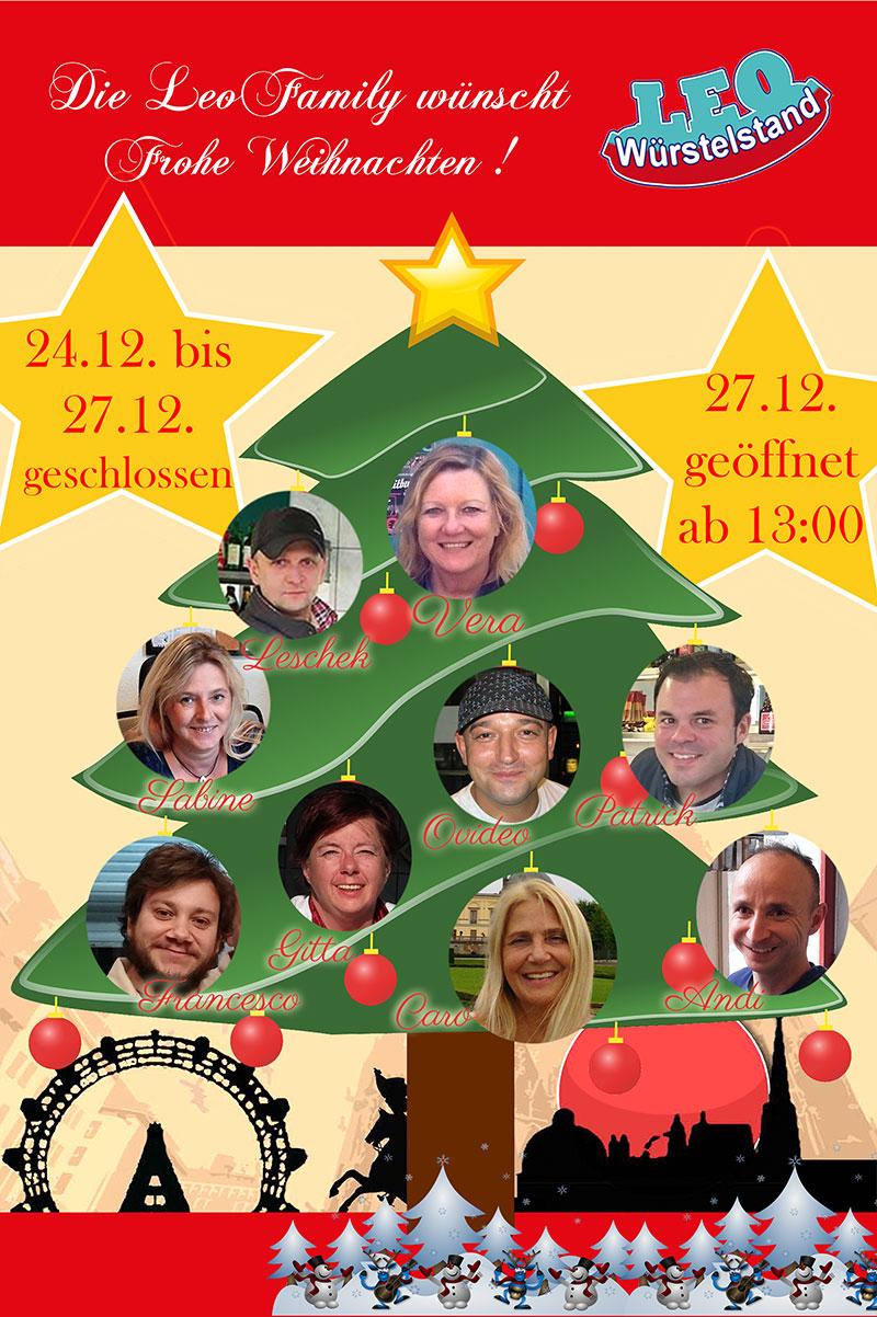 #LEOfamily wünscht Frohe Weihnachten!