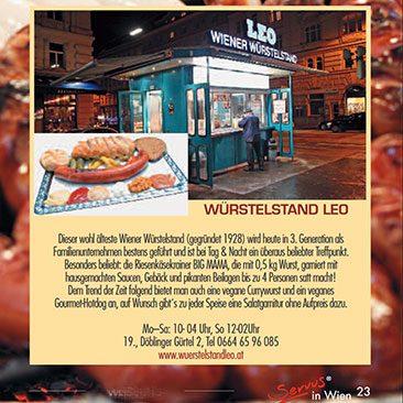 Am Wiener Würstelstand
