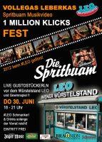 Plakat Fest LEO Spritbuam