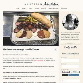 The best damn sausage stand in Vienna