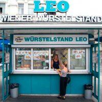 Foto by Magazin Wienerin vom Würstelstand LEO