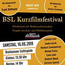 LEO Sponsor vom BSL Kurzfilmfestival