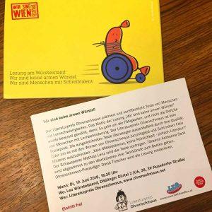 Einladungen Literaturpreis Ohrenschmaus sind fertig!
