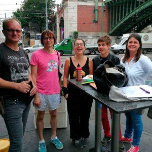 Das Literaturpreis Ohrenschmaus Team