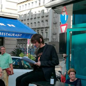 Literaturpreis Ohrenschmaus, 19.06.2018 - Schauspieler Mathias Lenz